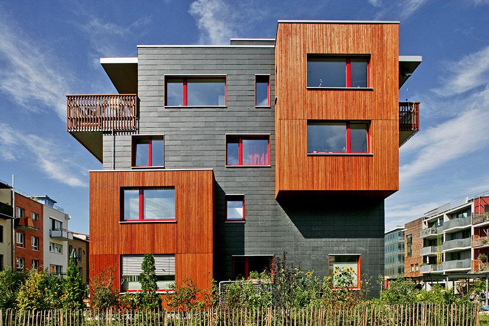 Gestaltete Fassaden