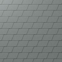 Dacheindeckung mit Metallschindel