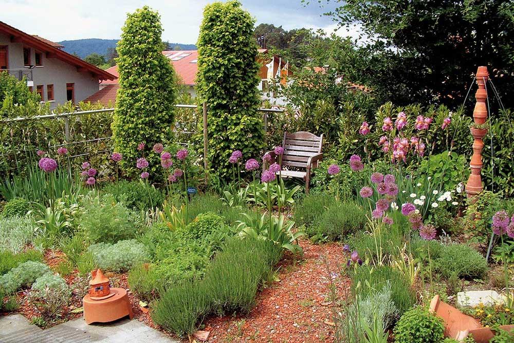 Dachgarten auf einem Flachdach