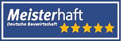 Logo 5 Sterne meisterhaft  Dachdeckerei Ockenheim Bingen