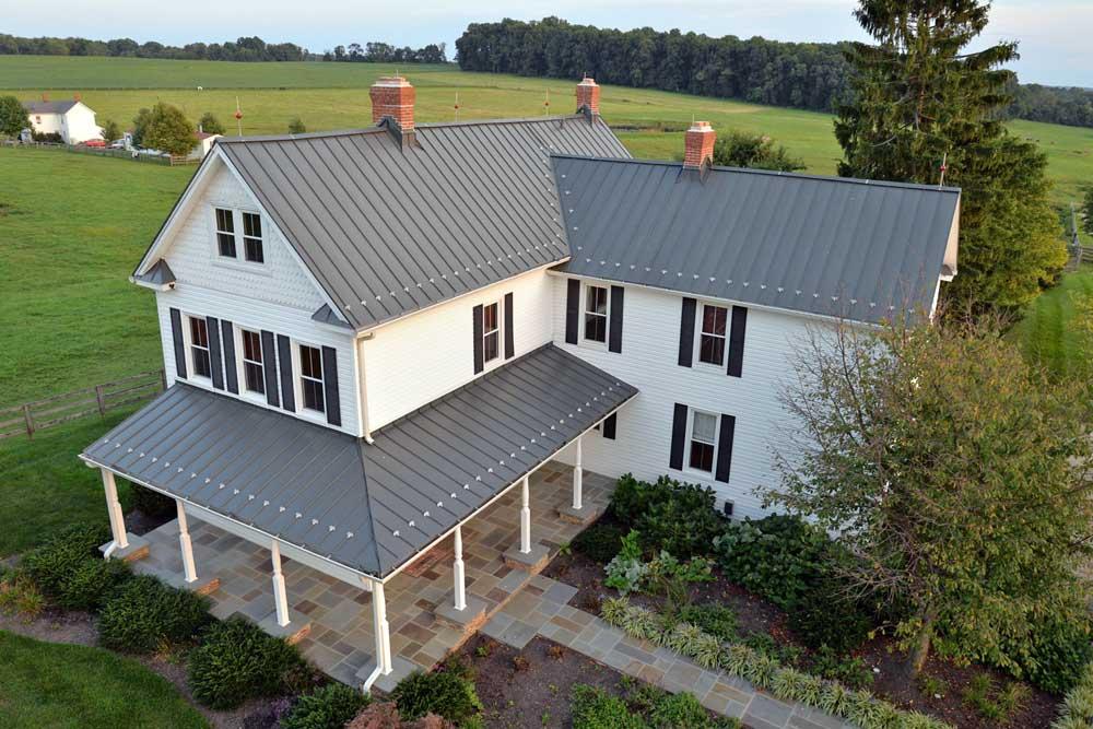Stehfalzmetall Dacheindeckung