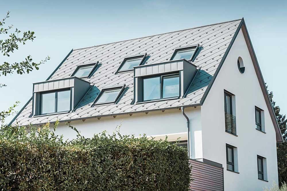 Metallplatten Dacheindeckung
