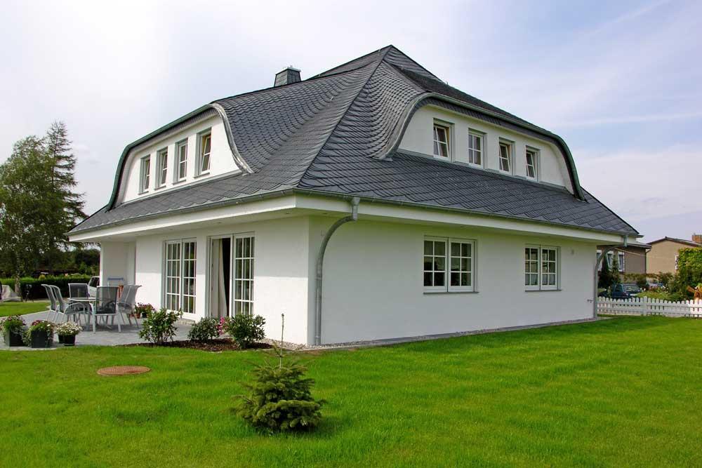 Schieferschuppen Dacheindeckung