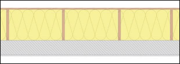 Detail Dachboden Dämmung Exklusiv