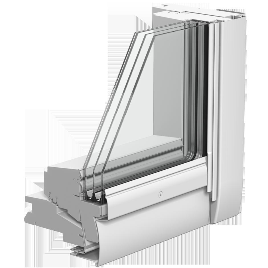 Dachfenster Verglasung Energyplus