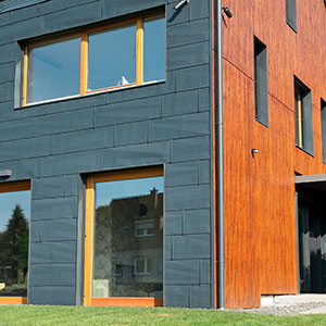 Fassaden mit Metall