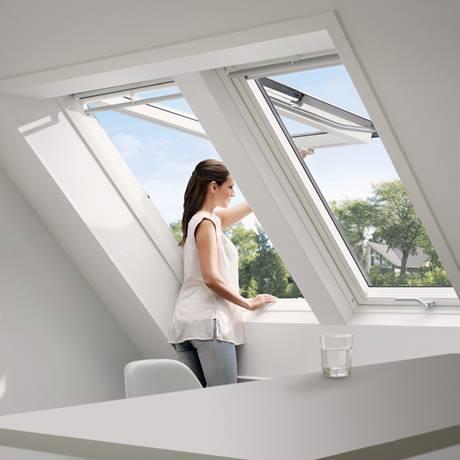 Zwillingsfenster DUO Velux Dachfenster Dachdecker Zimmermann Ockenheim Mainz Bingen Neckar Alb