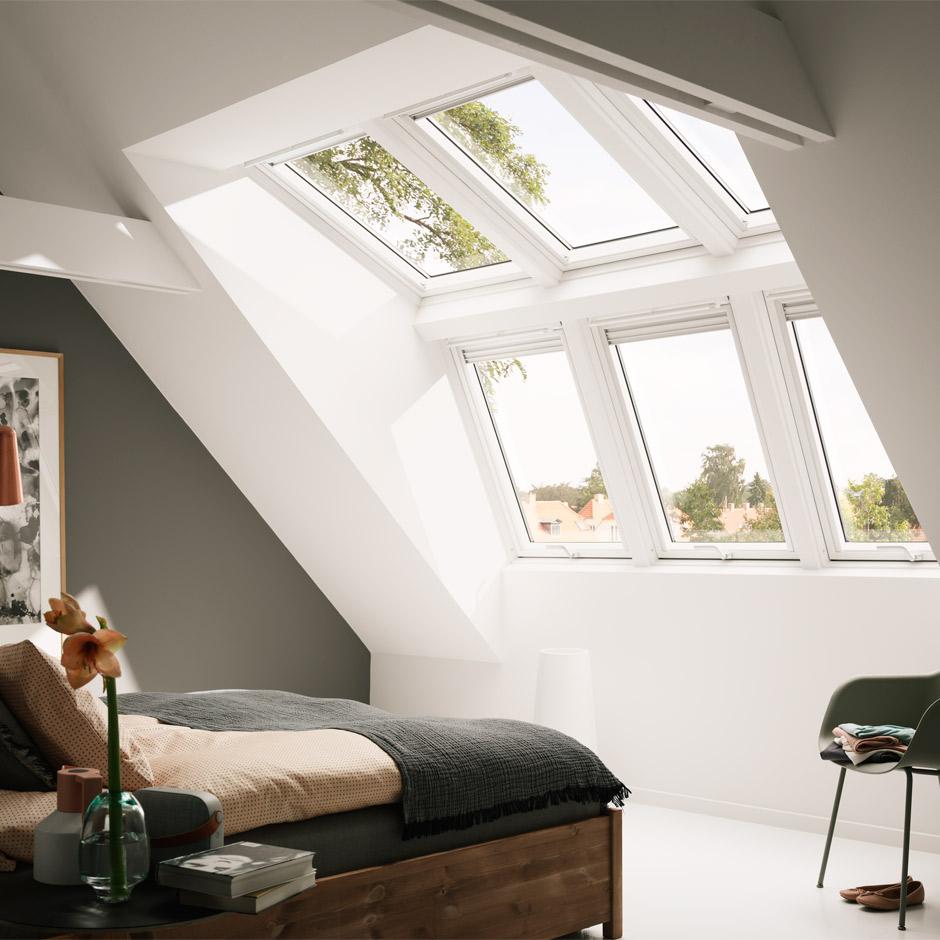 Panoramafenster Velux Dachfenster